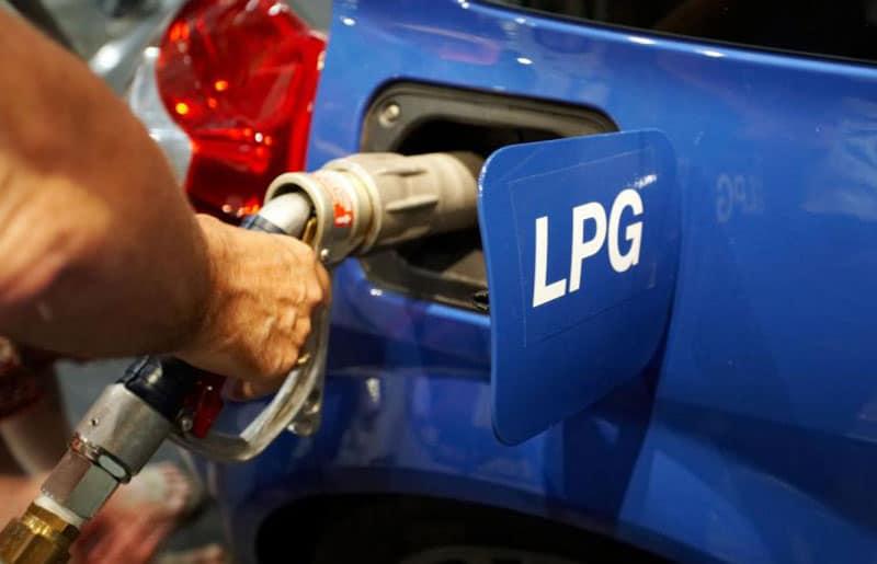 přestavba na LPG